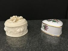 Two Trinket Boxes  - One RHS