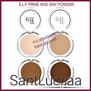 E.L.F ELF PRIME AND STAY FINISHING POWDER - LIGHT, NUDE, DARK, CARAMEL SKIN