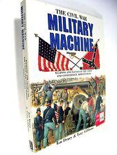 Nice 1st Thus Printing, THE CIVIL WAR MILITARY MACHINE, 1993 Oversize Folio & DJ