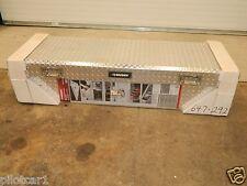 "Husky 647292 62"" Polished Aluminum Diamond Plate Mid Size Pickup Tool Box"