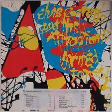 ELVIS COSTELLO & ATTRACTIONS: Armed Forces DJ PROMO USA ORIG vinyl LP NM-