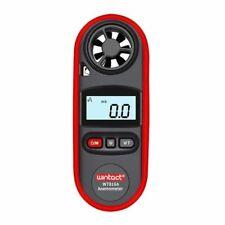 LCD Anemometer Digital Wind Speed Gauge Meter Handheld Portable Thermometer Tool