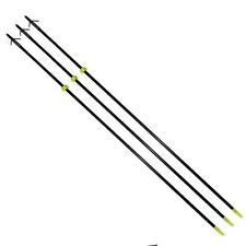 """3 Archery Bow Fishing Hunting Arrows 34"""" with Broadheads and Safety Slides"""