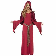 High Priestess Costume - Fancy Dress Ladies Medieval Outfit Game Thrones Womens