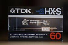 TDK HX-S 60 audio metal particle cassette