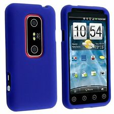 Silicone Skin Case for HTC Evo 3D - Blue