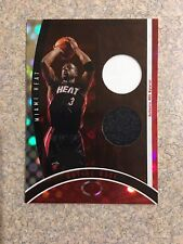 DWYANE WADE 2006-07 TOPPS ELEVATION EXECUTIVE LEVEL #D /49 DUAL GAME USED JERSEY