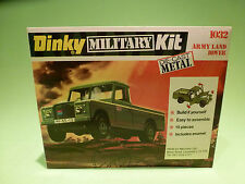 DINKY TOYS ACTION KIT  1:43  MILITARY  1032  LAND ROVER  -  MINT IN BLISTER  BOX