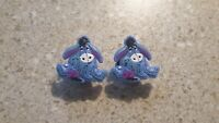 Lot of 2 Eeyore shoe charms for Crocs shoes. Other uses Craft, Scrapbook