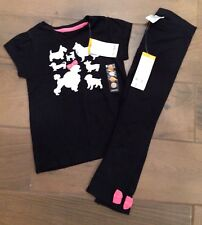 Gymboree Girls Posh and Playful 3t toddler leggings shirt poodle puppiesNWT