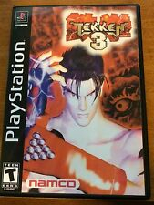 Tekken 3 - Playstation - Replacement Case - No Game