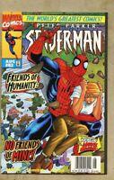 Spider-Man #82-1997 nm+ 9.6 Newsstand Variant cover Peter Parker