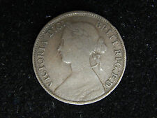 1860 Great Britain Farthing - Young Victoria
