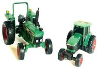 2 Vintage 2001 Tonka 510 Tractor & Farm Tractor Maisto Hasbro Collectibles