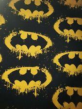 Marvel Batman Stoff Hero Sommersweat Kinderstoff Superhelden Meterware