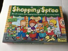 Shopping Spree Board Game By Educa Of Spain Used