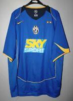 JUVENTUS ITALY 2004/2005 AWAY THIRD FOOTBALL SHIRT JERSEY MAGLIA NIKE SIZE L