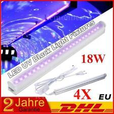 4X LED Party UV Bar 18W Profi Bühnenbeleuchtung Disco DJ Beleuchtung Lichtleiste