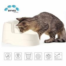 Cat Drinking Fountain Dog Water Dispenser Pet Electric Bowl w filter 2.5L .66 G