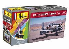Heller 1/72 North American T-28 Fennec/Trojan Gift Set # 56279