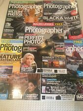 Lot of 5 Digital Photographer Magazines Issues 201, 211, 214, 221 and 207