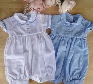Bebé Niños Pantalón Corto Estilo Español Camisa Azul//Blanco 0-3 M 3-6 M 6-9 meses