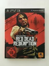 PS3 Spiel * RED DEAD REDEMPTION * Limited Edition Sony PlayStation 3 komplett