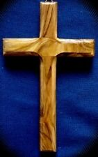 HANDMADE OLIVE WOOD CROSSES FROM BETHLEHEM IN THE HOLY LAND.  Buy 5 get 3 FREE