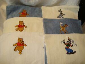 Disney Winnie the Pooh/Goofy/Tramp/Bambi Cotton Fingertip/Tea/Hand Towels