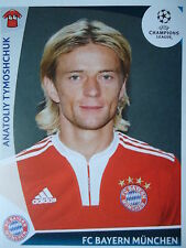 Panini 12 Anatoliy Tymoshchuk Bayern München UEFA CL 2009/10