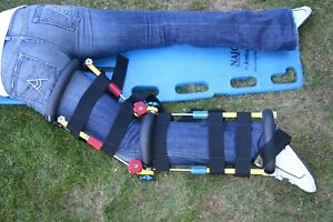 TRACTION EXTRACTION LEG SPLINTS- Fully Positionable, made in USA