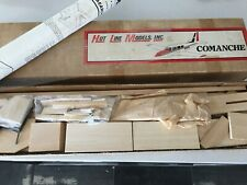 "Hot Line Models,  Piper Comanche R/C model kit. 71"" wingspan"
