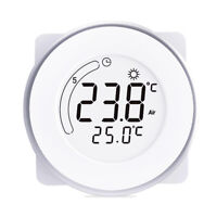 Home Digital LCD Backlight Electric Heating Thermostat Programmable 3 Time Modes
