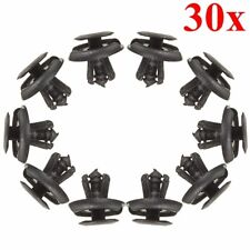 30x Fender Splash Shield Push Rivet Fastener Retainer Pin Clips For Suzuki Mazda