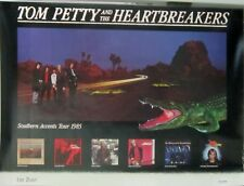 Tom Petty - SOUTHERN ACCENT Promo Tour Poster [1985] - NM