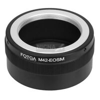 FOTGA Adapter for M42 Mount Lens to Canon EOS M EF-M Mirrorless Camera Body