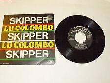 "LU COLOMBO ""SKIPPER/RIO RIO"" disco 45 giri MOON Italy 1982"
