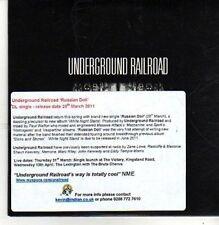(CB404) Underground Railroad, Russian Doll - 2011 DJ CD