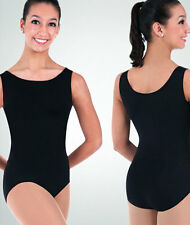 Black Lycra Full Body Long Sleeve Unitard 8-10 Body Wrappers 971 Adult Medium