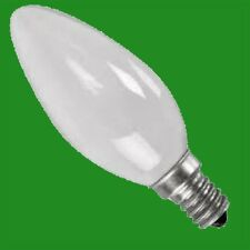 12x 60W PEARL CANDLE INCANDESCENT FILAMENT DIMMABLE LIGHT BULB SES E14 SCREW