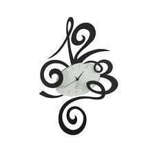 ARTI E MESTIERI ROBIN NERO 34X51 cm OROLOGIO DA PARETE  WALL CLOCK LOVE BLACK