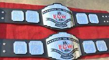 ECW TAG TEAM (PAIR) HEAVYWEIGHT CHAMPION WRESTLING BELTS REPLICA BELT