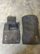 1998-2000 Mercedes SLK 230 R170 Floor Carpet Mats Left And Right Side