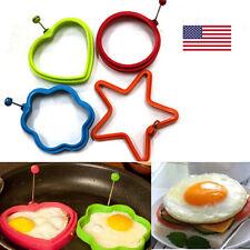 4Pcs Silicone Egg Mold Kitchen Tools Pancake Egg