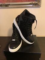 "Philipp Plein shoes mens Hi-top Sneakers ""STARS"""