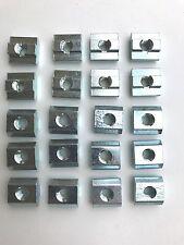 20 PCs of M6 Sliding Nuts for 40  Aluminium Extrusion T-Slot Profile