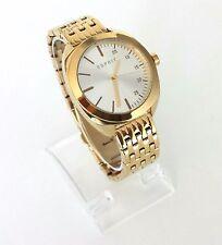 Esprit Damen Uhr Eleanor gelb gold weiß Edelstahl ES108302002