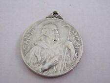 Vintage Catholic Religious Holy Medal Saint Mort Sainte Orble Theunis