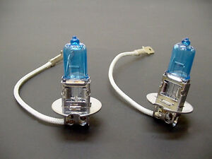 2x Super White Incandescent Fog light Bulbs 100w Fits Acura Halogen 12v Nos