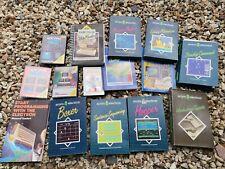 Lot Of Acorn Electron Vintage Cassette Computer Games & Books